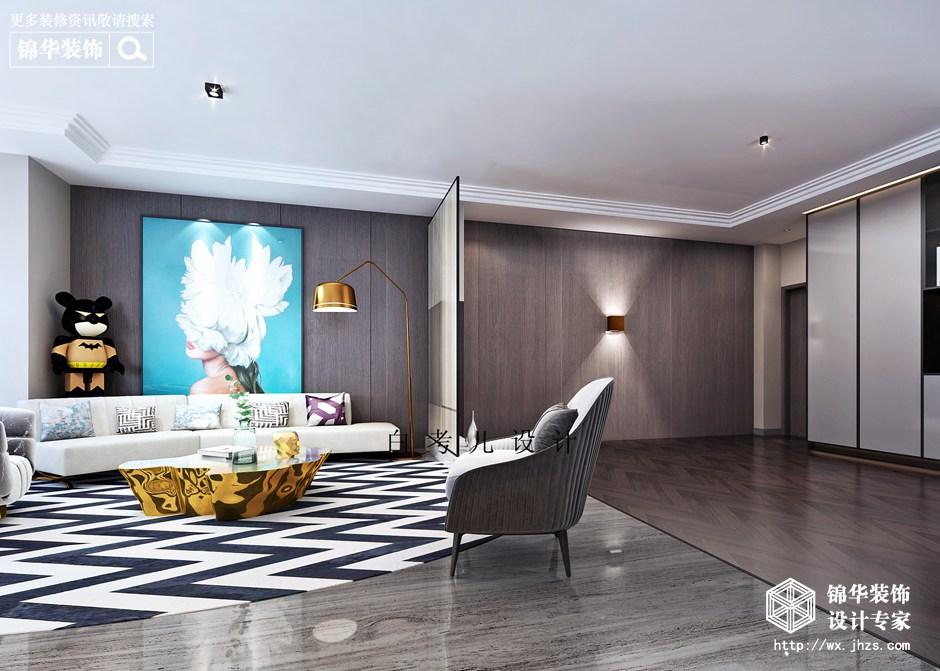 现代简约-扬子华都-四室两厅-190平装修实景效果图