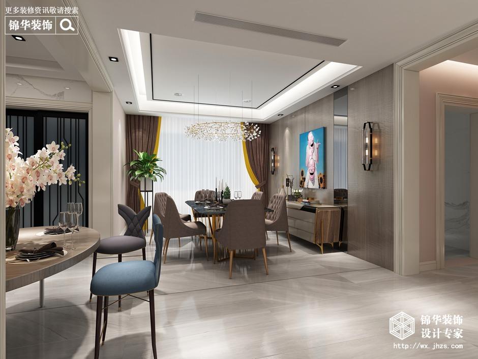 现代简约-碧桂园·天禧-四室两厅-220平-装修实景效果图