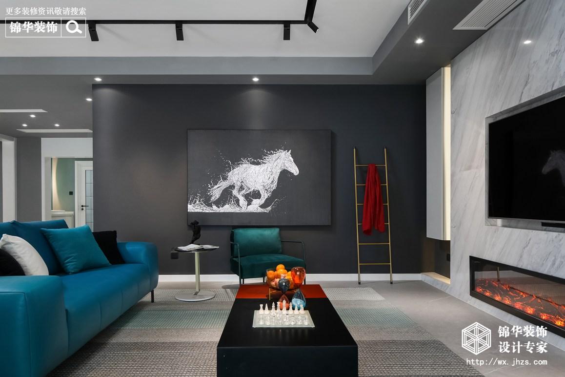 现代轻奢风格-红豆人民路九号-四室两厅-230平-装修实景效果图