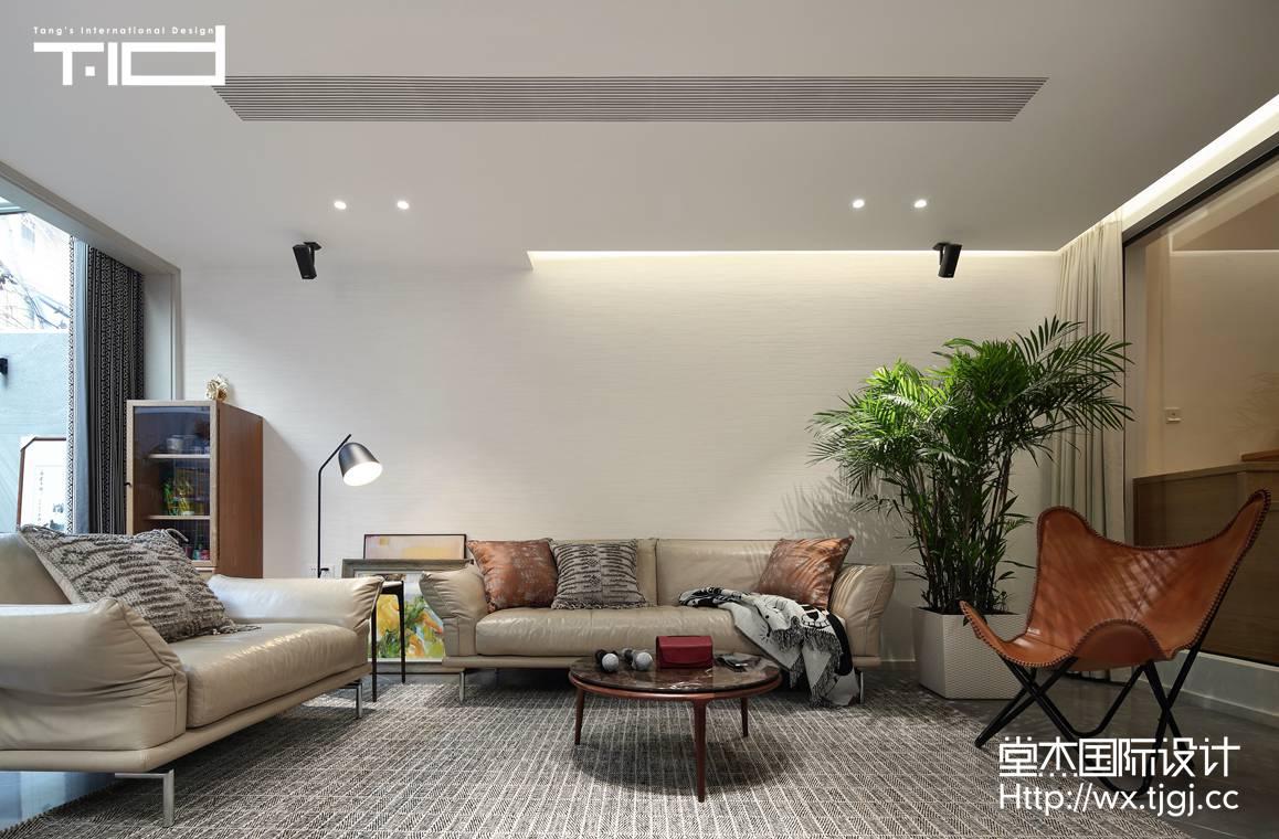 现代简约-九里香缇-别墅-560平-装修效果实景图