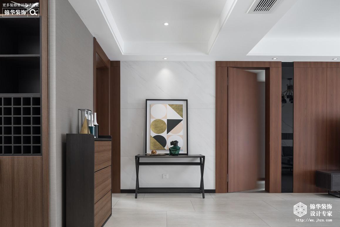 现代简约-金桂尚苑-三室两厅-160平-玄关-装修效果实景图