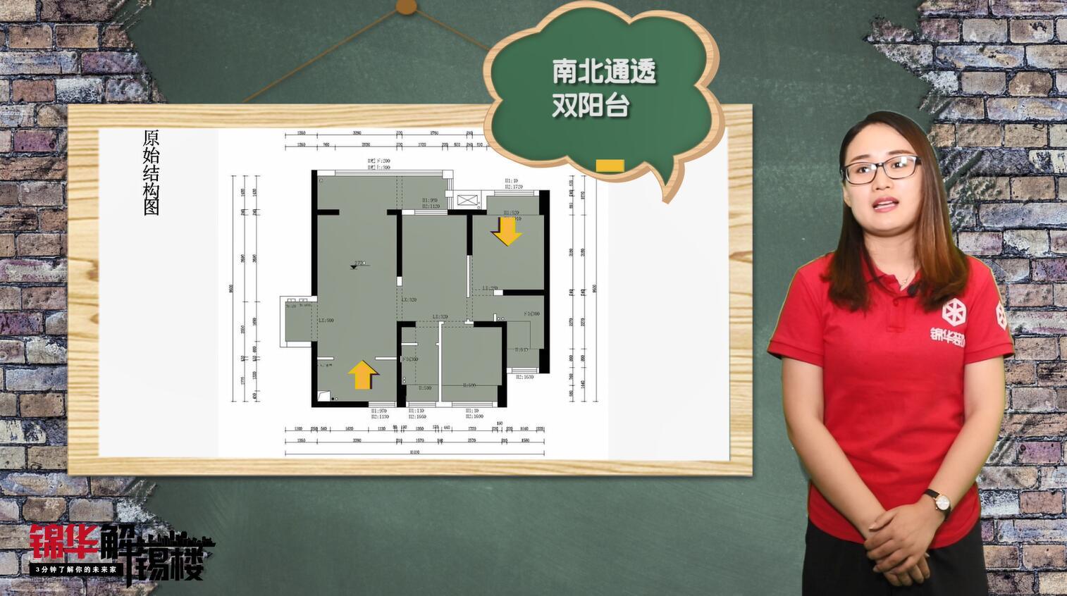 【lols10外围平台解析楼】无锡华润江南府107平户型解析