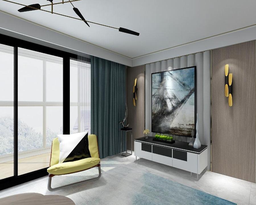 富力运河十号127平米设计研发
