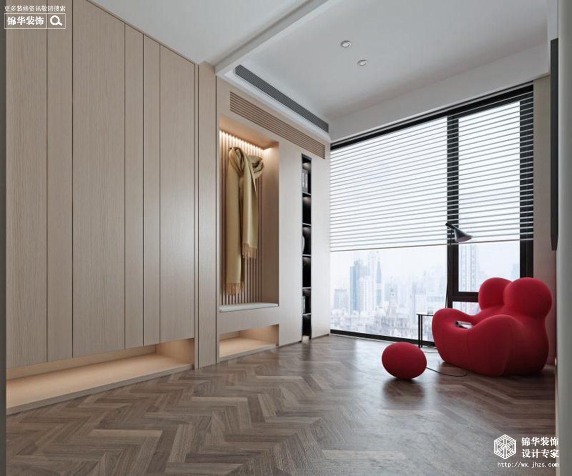 现代简约-江阴自建-别墅-456平-装修实景效果图