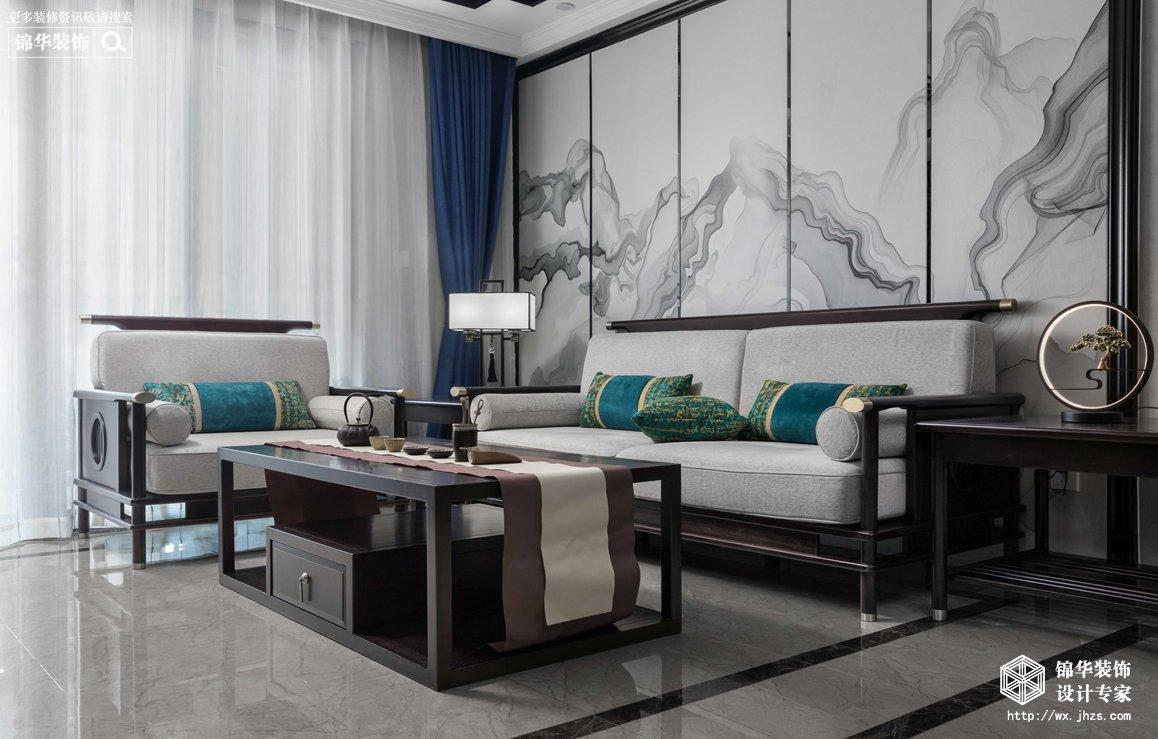 太平洋惠太雅苑137平新中式风格实景图
