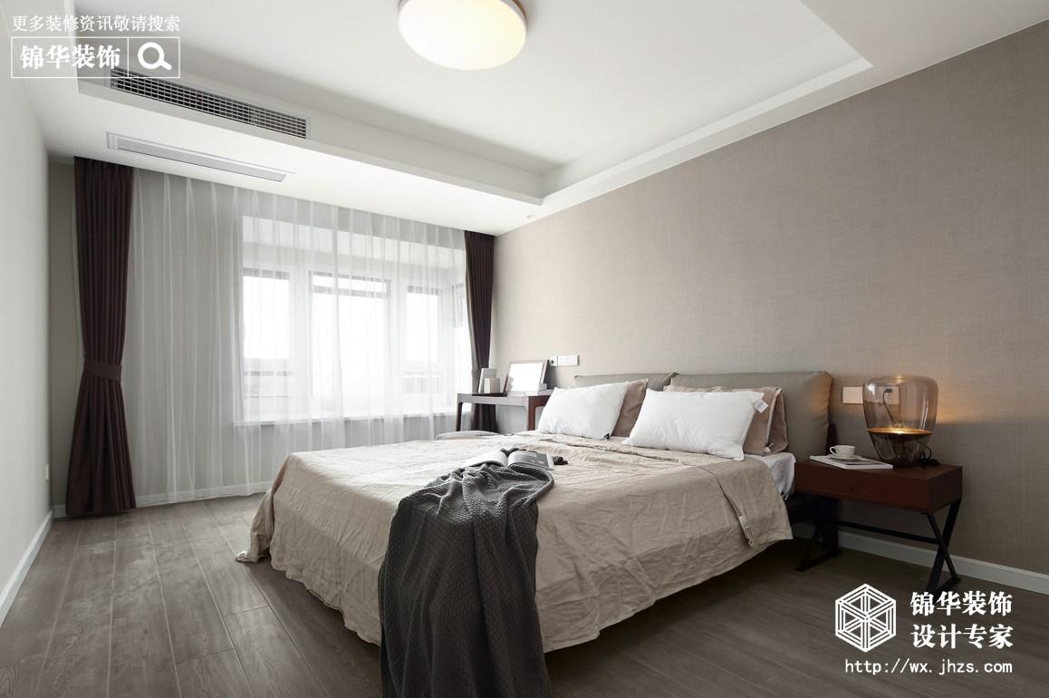 九龙仓碧玺128平现代简约风格实景图装修-三室两厅-现代简约