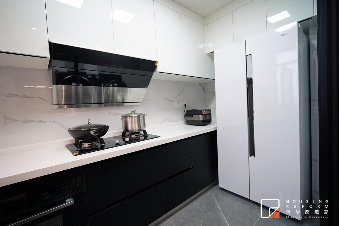 蔚蓝都市花园-现代风格-130平-厨房2