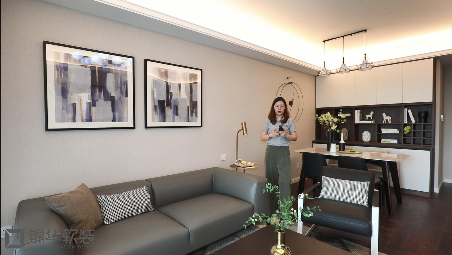 金域缇香-现代简约风格-86平软装-实景样板间视频