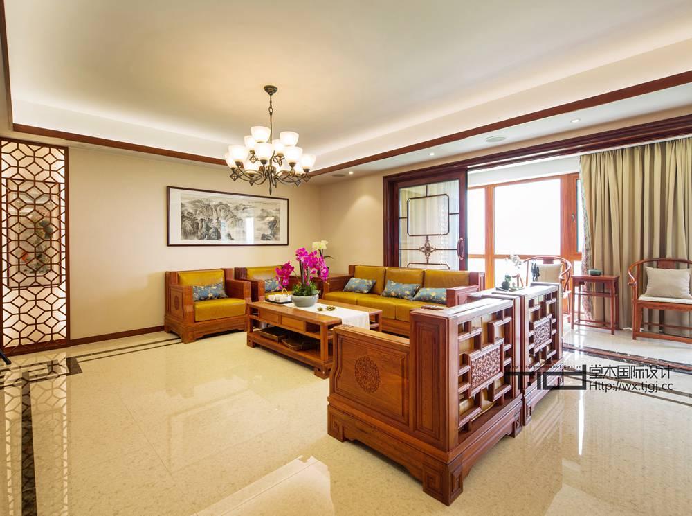 凯旋门280平 五室两厅三卫 新中式风格实景样板间