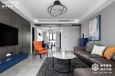 现代风格-华悦氿峰二期-四室两厅-177平米-装修实景效果图