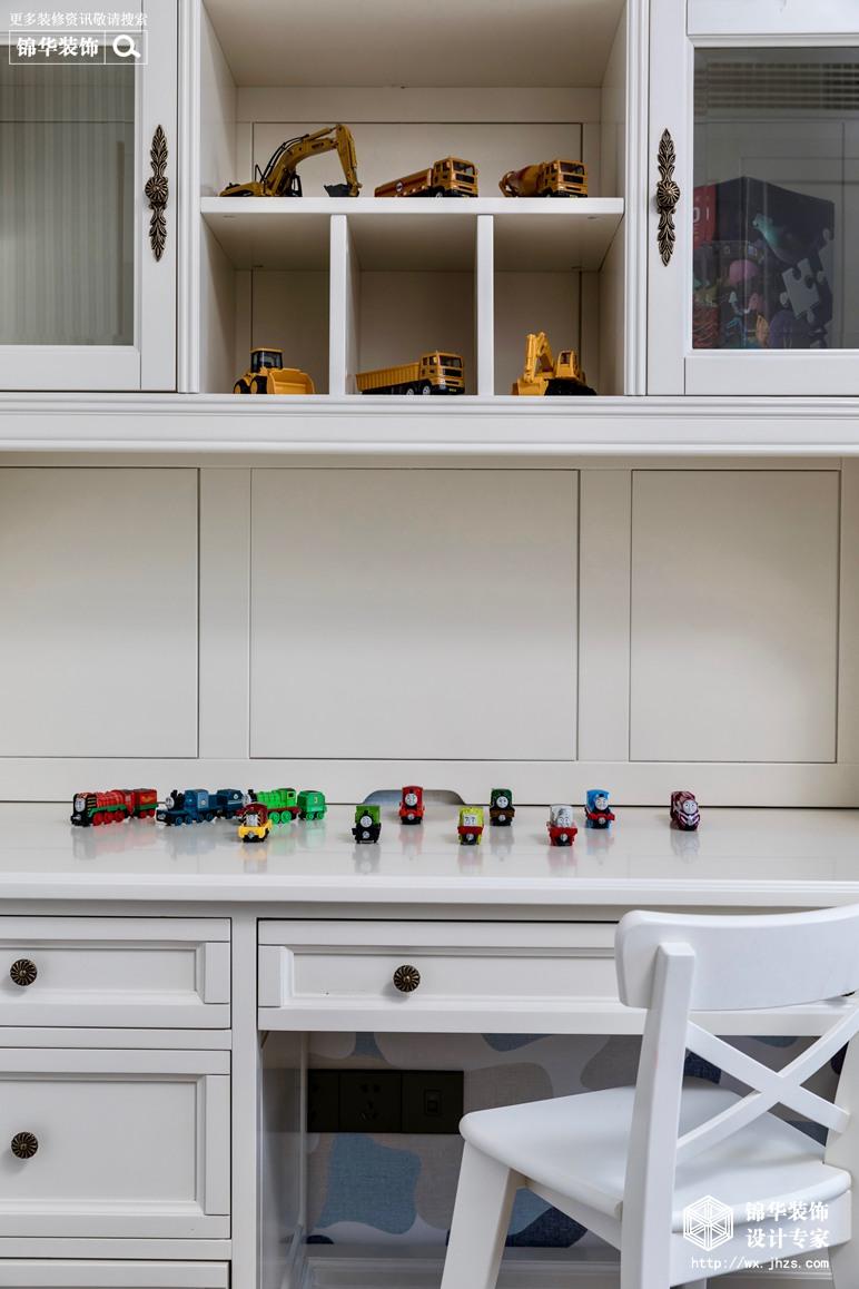 新中式风格-国信世家-三室两厅-140平-儿童房-装修实景效果图