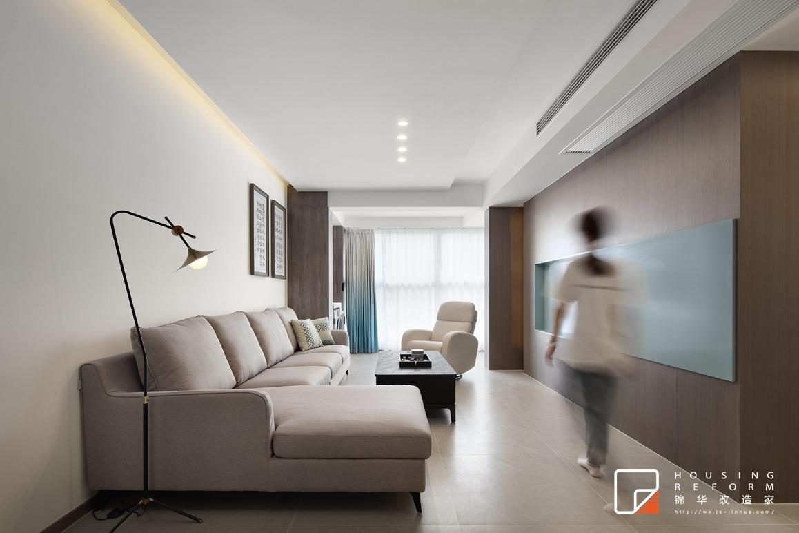 现代风格-碧桂园-三室两厅-115平-装修实景效果图