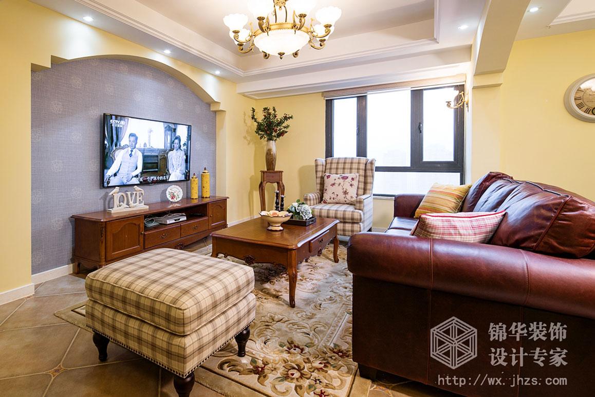 小美风格-阳光嘉园-三室两厅-140平米-装修实景效果图