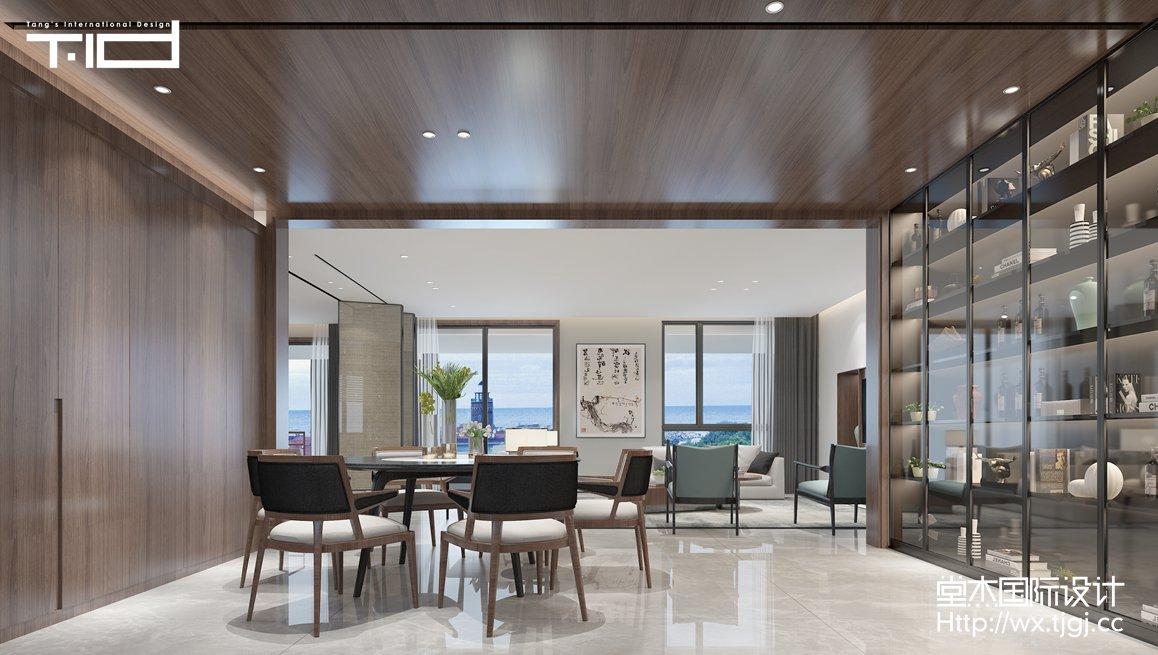 现代风格-香樟园-大平层-180平-装修效果图