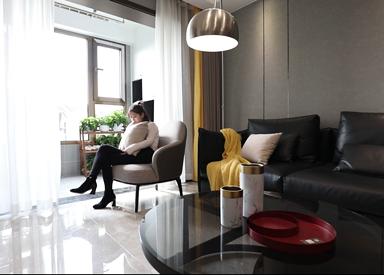 百乐和园135平现代风格全案整装实景样板间视频