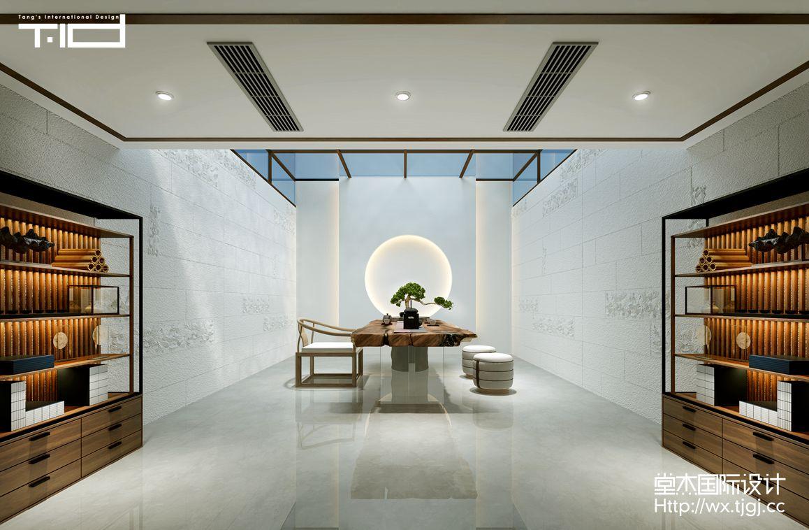 现代轻奢-中堂院墅-别墅- 500平 -装修效果图装修-别墅-现代简约