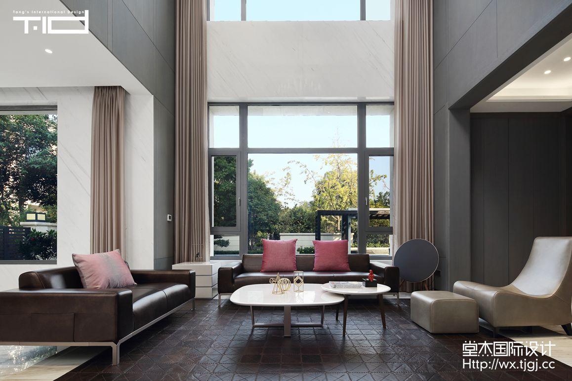 现代风格-万象九里-别墅-623平-装修实景效果图