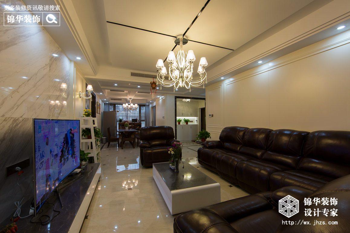 现代风格-融侨官邸-三室两厅-150平-装修实景效果图