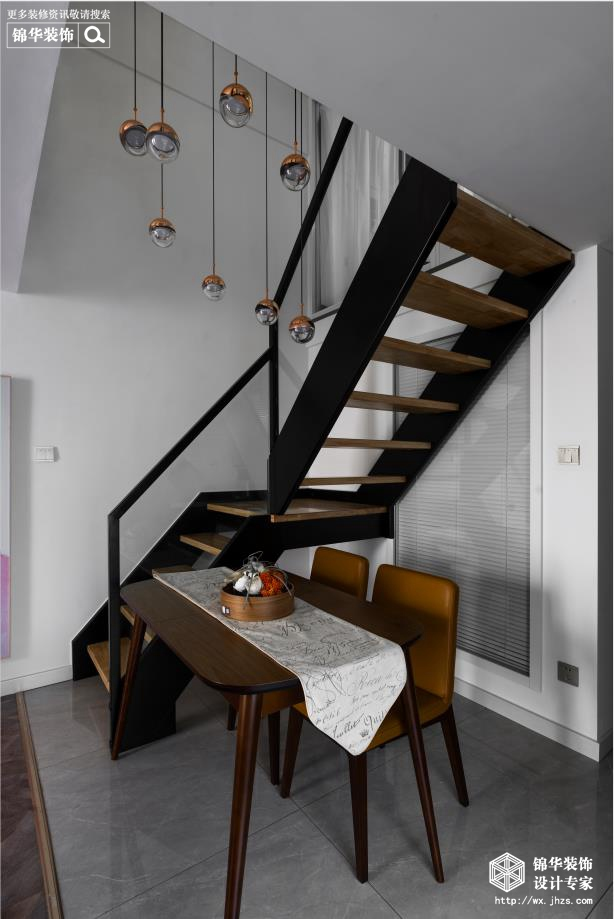 现代北欧-赛格公馆-两室两厅-48平-餐厅-装修实景效果图