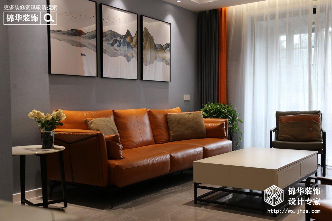 现代简约风格-百乐和园-四室两厅-134平-装修实景效果图
