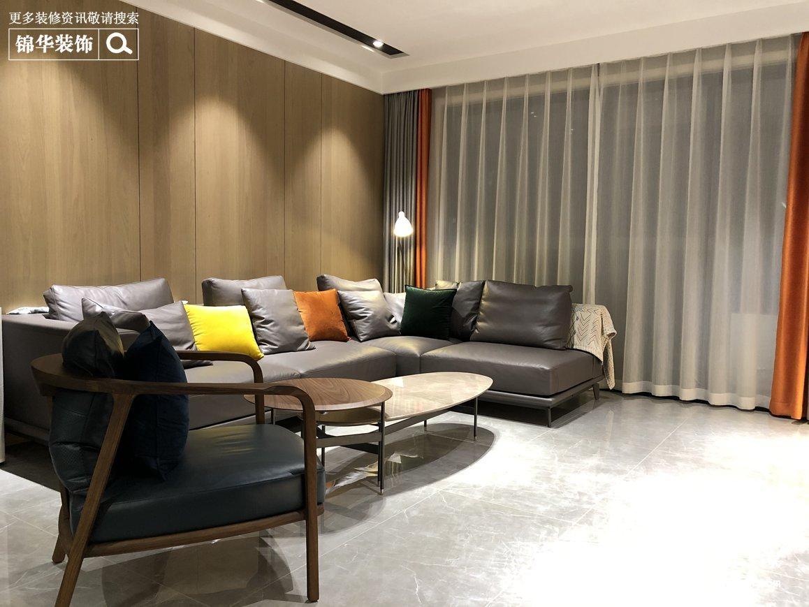 现代简约-复地拜伦湾-四室两厅-130平-装修实景效果图