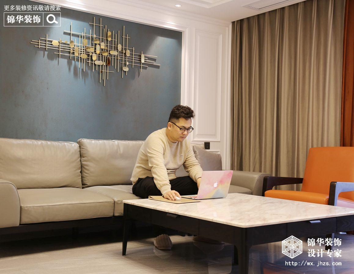 现代简约-广石家园-三室两厅-130平-装修实景效果图