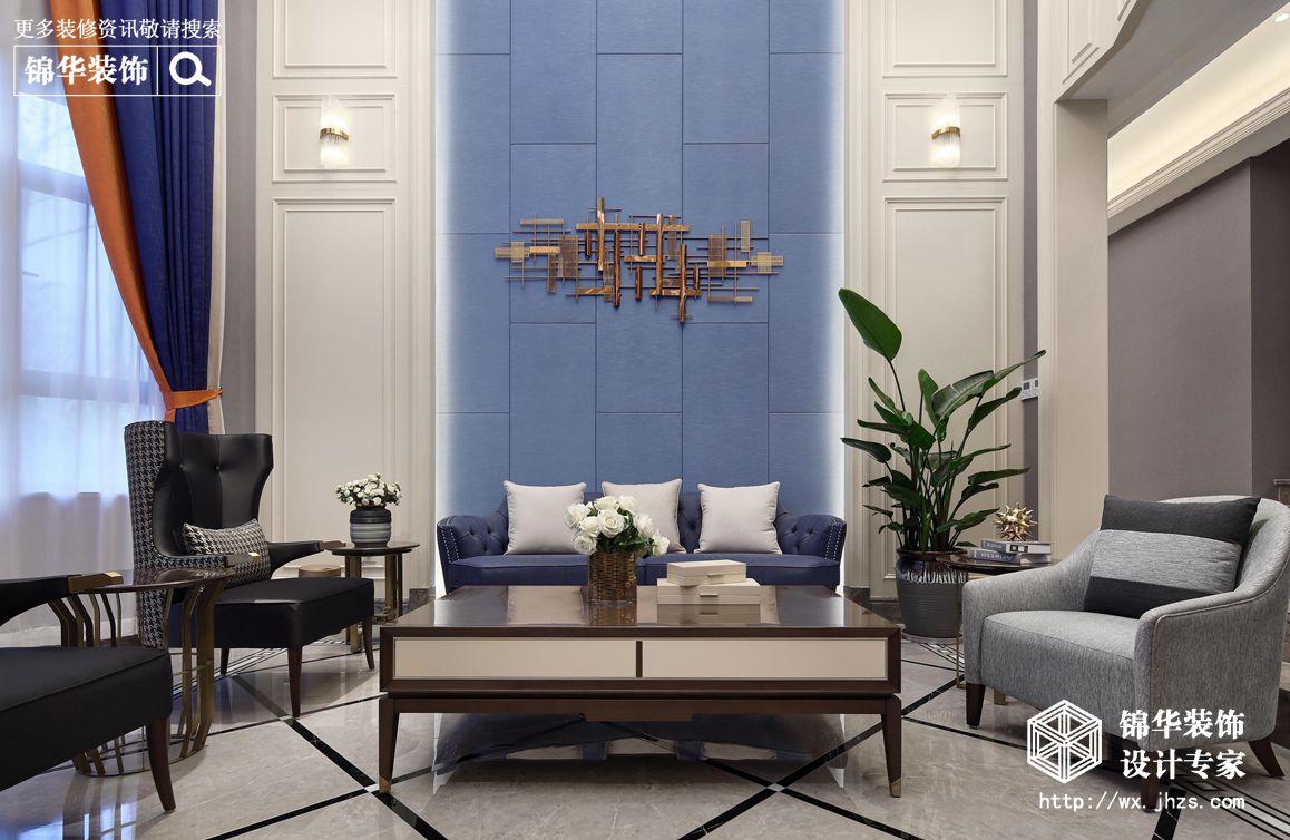 美式轻奢-印象剑桥-别墅-530平-装修实景效果图