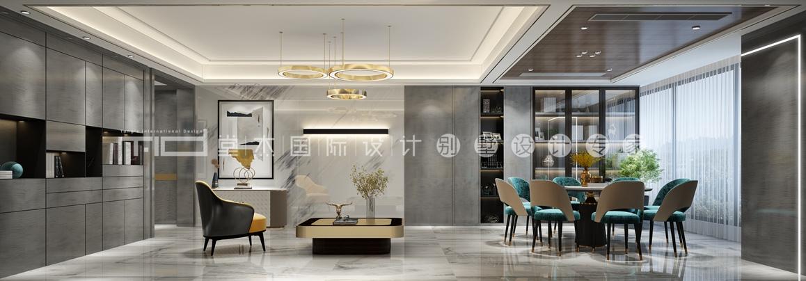 现代轻奢-保利达江湾城-大户型-380平-装修效果图