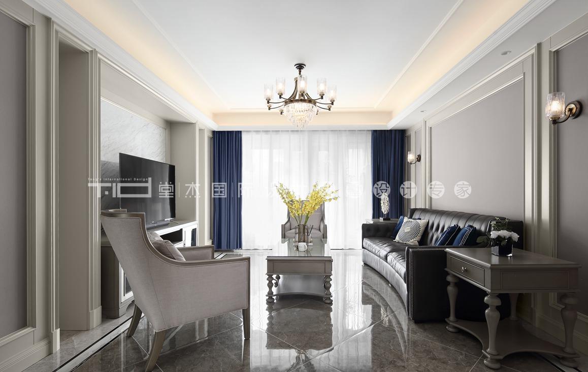 美式轻奢-九龙仓御玺-四室两厅-156平-装修效果实景图