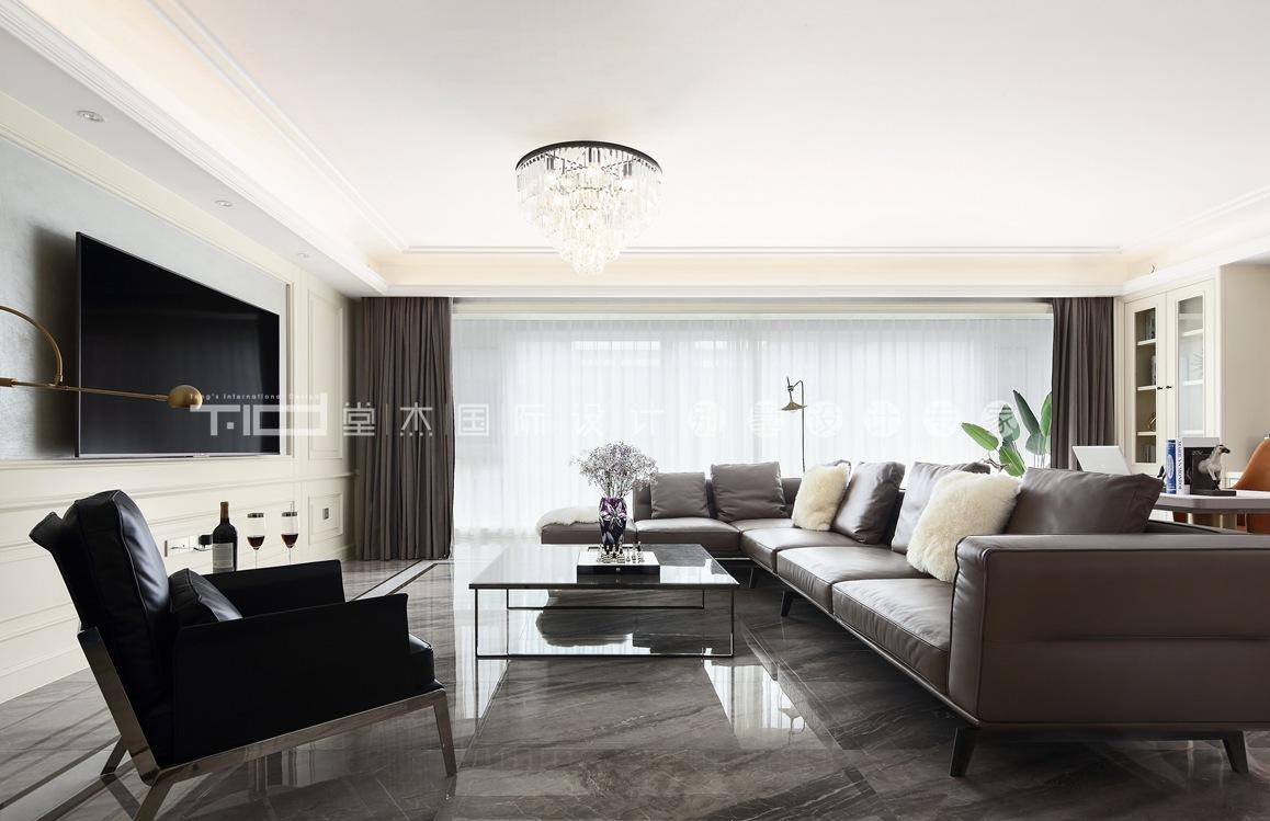 美式轻奢-九龙仓御玺四室两厅-156平-装修效果实景图