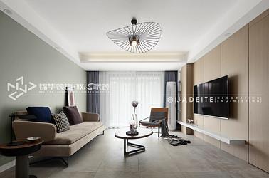 现代风格-万科魅力-两室两厅-89平-装修实景效果图