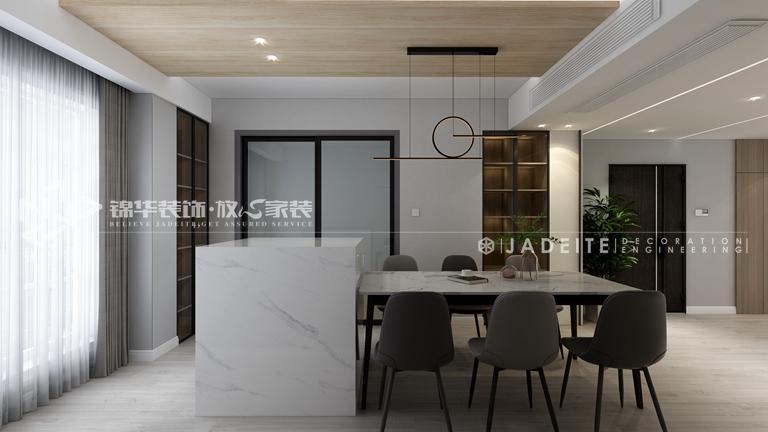 现代简约风格-龙湖紫云台-三室两厅-129平-装修效果图