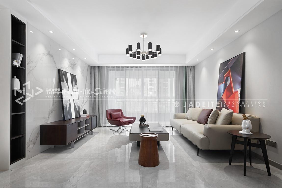现代风格-西溪碧桂园-四房两厅两卫-135平-装修实景效果图