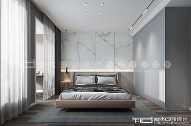 现代轻奢风格-橡树湾-联排别墅-256平-装修效果图