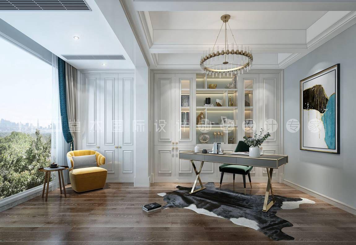 美式轻奢风格-玉兰花园-大平层-268平-装修效果图 装修-大户型-轻奢