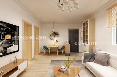北欧风格-仙河苑-两室一厅-92平-装修效果图