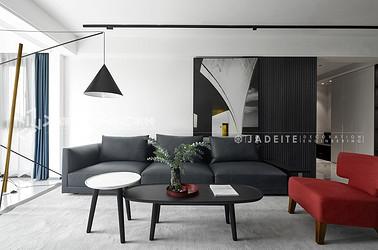 现代简约风格-万科魅力之城-两室两厅-130平-装修实景效果图