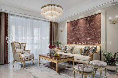 新古典轻奢风格-融创熙园-四室两厅-146平-装修实景效果图
