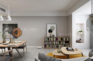 现代简约-中海凤凰熙岸-94平-三室一厅-装修效果图