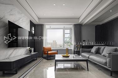 现代简约-周新苑-180平-四室两厅-装修实景效果图