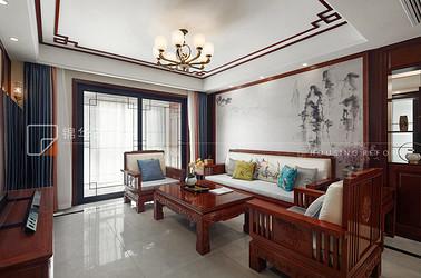 中式风格-阿尔勒-160平-四室两厅-装修实景效果图