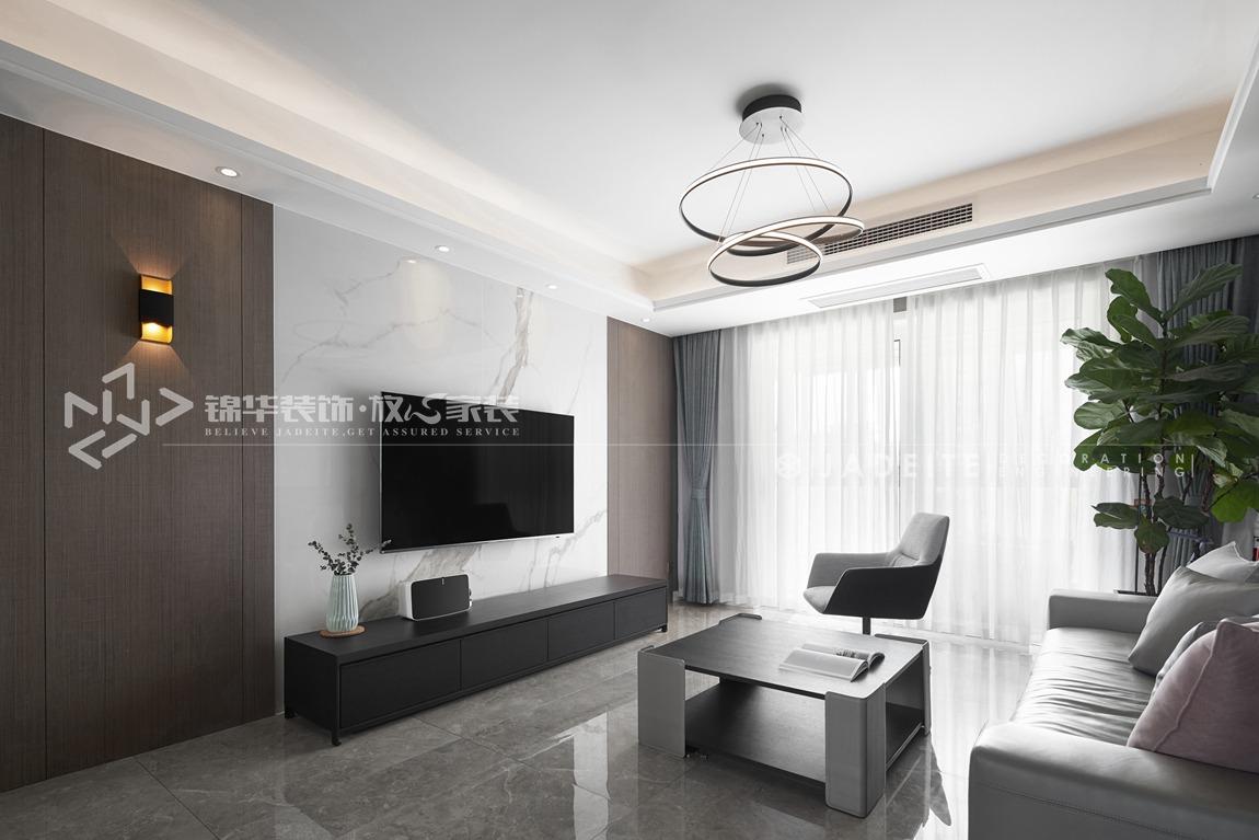 现代简约风格-九龙仓碧玺-四室两厅-143平-装修实景效果图