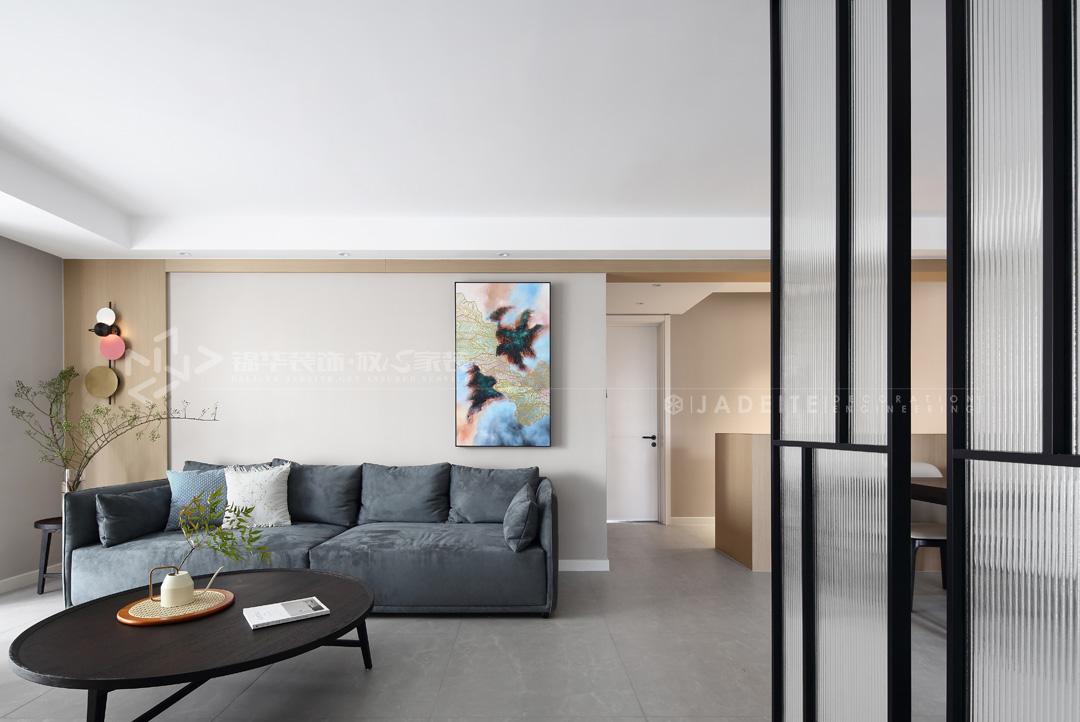 现代风格-欧风新天地-三室两厅-120平-装修效果实景图