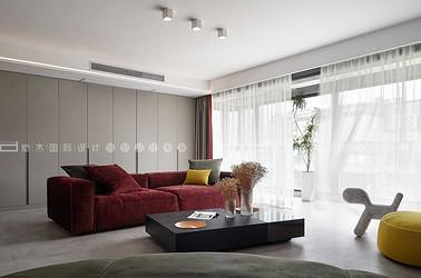现代风格-九龙仓御玺-三室两厅-160平-装修效果实景图