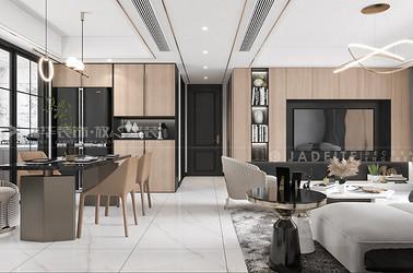 现代简约-江阴澄江府-四室两厅-145平-装修效果图
