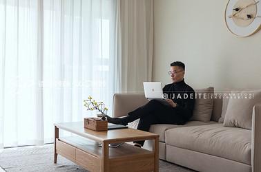 日式风格-中海凤凰熙岸-三室两厅-115平-装修实景效果图