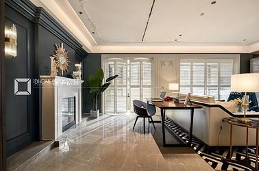 法式轻奢-雍锦里-三室两厅-150平-装修实景效果图