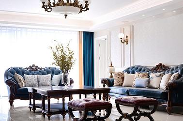 简欧风格-茂业天地观园-四室两厅-306平-装修实景效果图