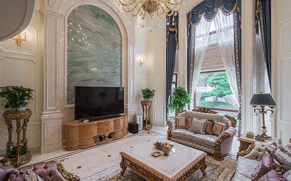 欧式古典风格-森林湖别墅-别墅-800平-装修实景效果图