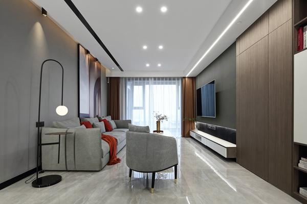 现代风格-江南府-公寓-118平-装修实景效果图